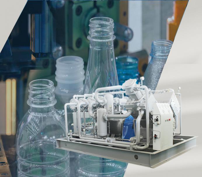 Máquinas sopladoras de botellas PET