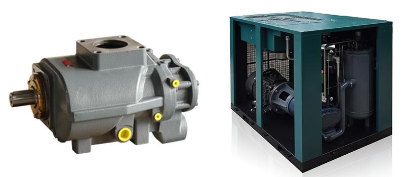 Cómo funcionan los compresores de aire de tornillo rotativo