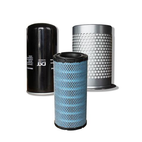 Tres filtros