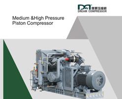 Folleto de compresores de aire de pistón de presión media y alta