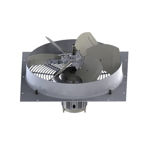 Ventilador de rotor interior