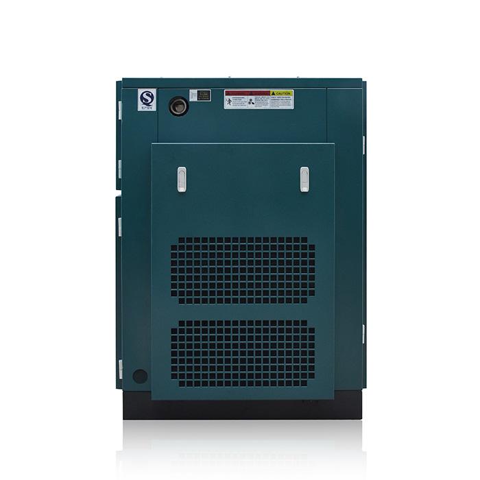 Compresor de aire de tornillo de velocidad fija de una etapa