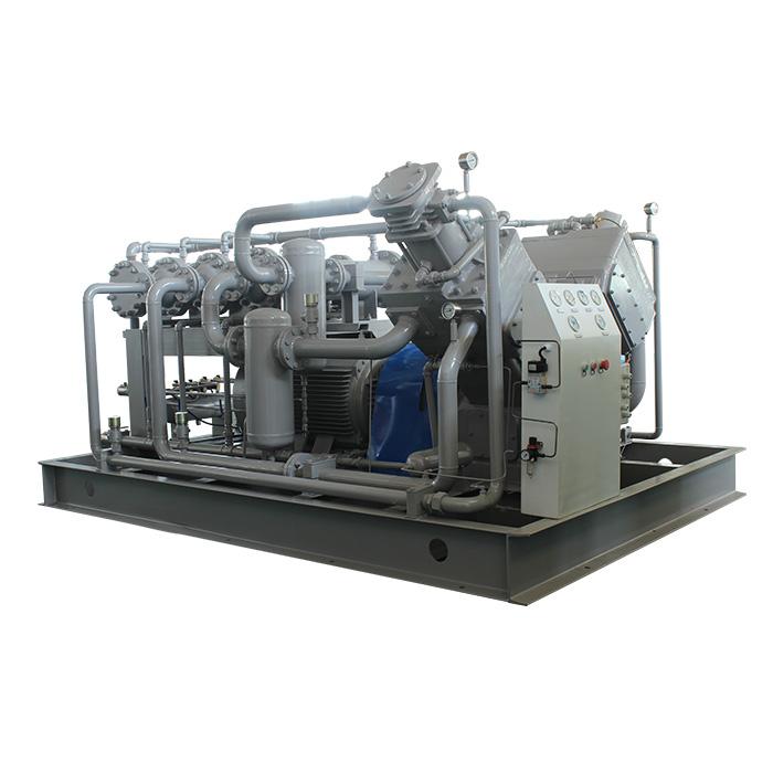 Compresor de aire de pistón sin aceite de media y alta presión (25-400bar)