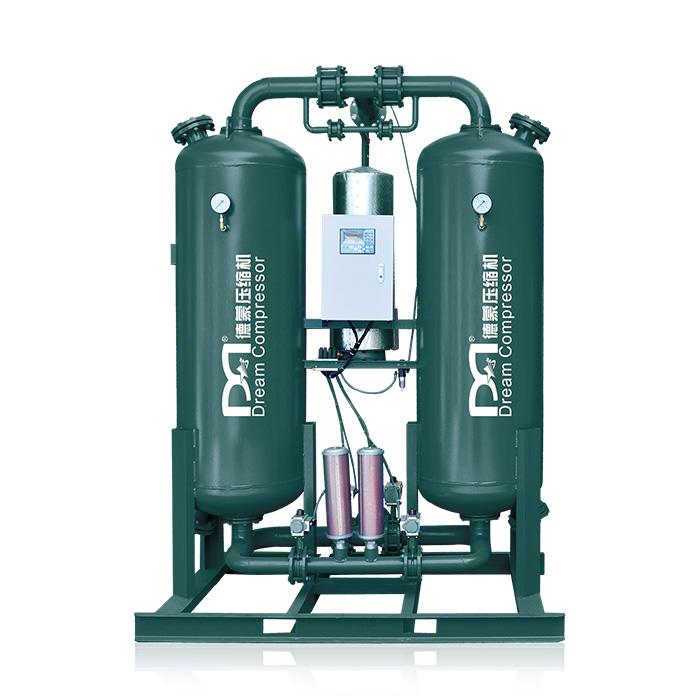 Secador de aire desecante de regeneración de microcalentamiento