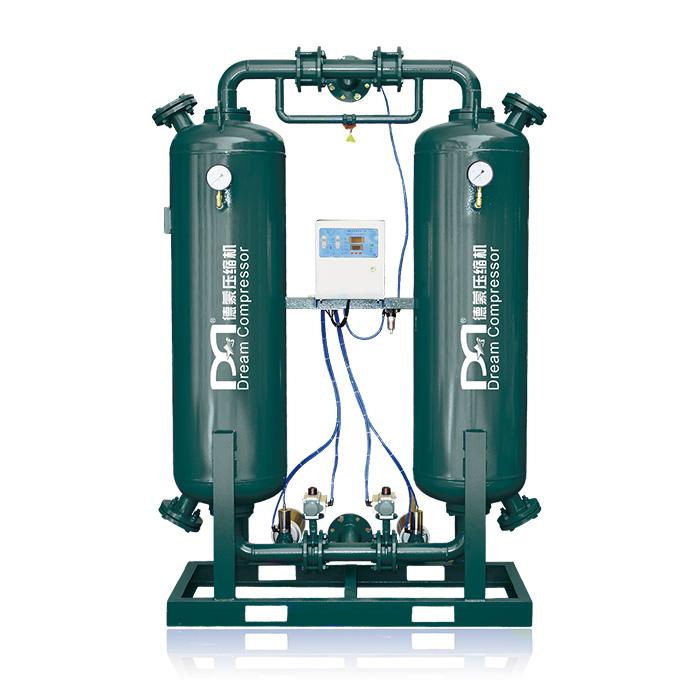 Secador de aire desecante de regeneración sin calor