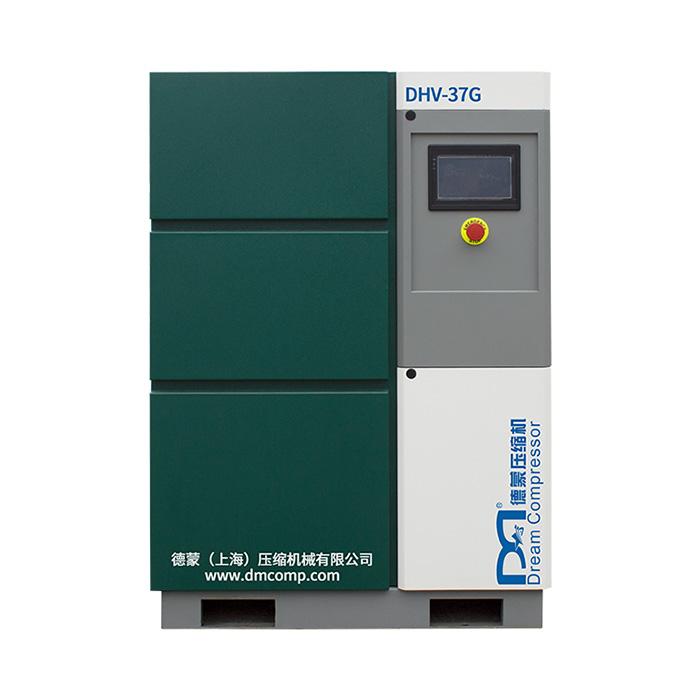 Compresor de aire de tornillo de accionamiento directo magnético permanente de velocidad variable de una sola etapa