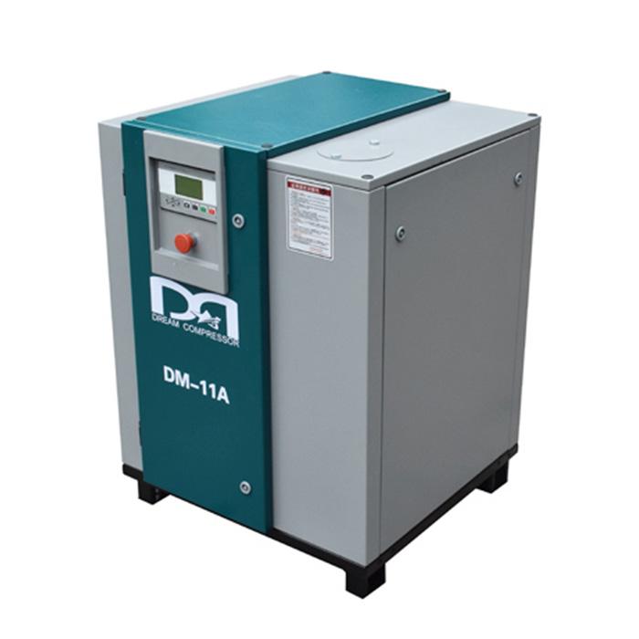 Compresor de aire de tornillo de transmisión por correa