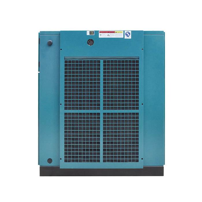 Compresor de aire de tornillo de velocidad variable magnético permanente de una sola etapa