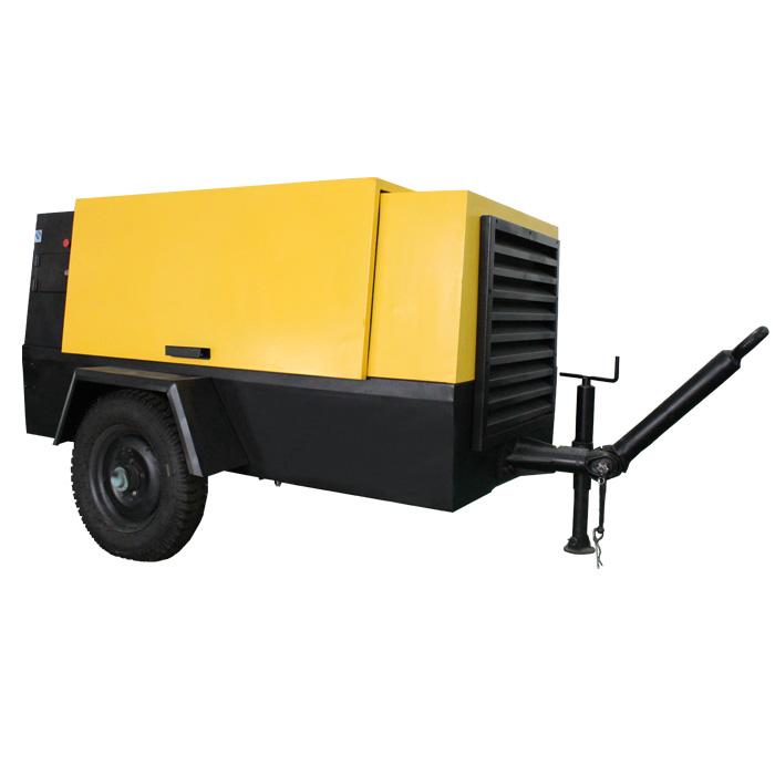 Compresor de aire de tornillo eléctrico portátil (8-18 bar)