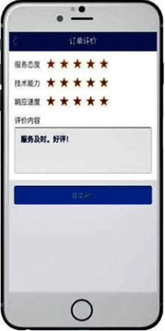 Evaluación del servicio en línea